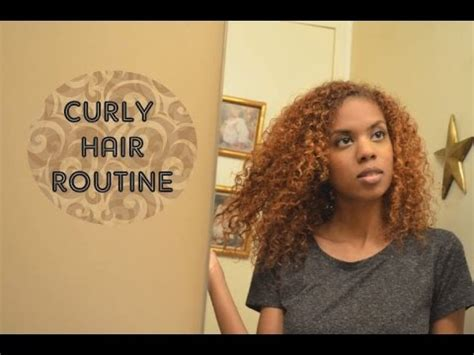curly hair routine shrinkage prevention youtube