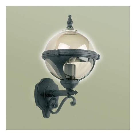 endon lighting single light outdoor globe wall fitting