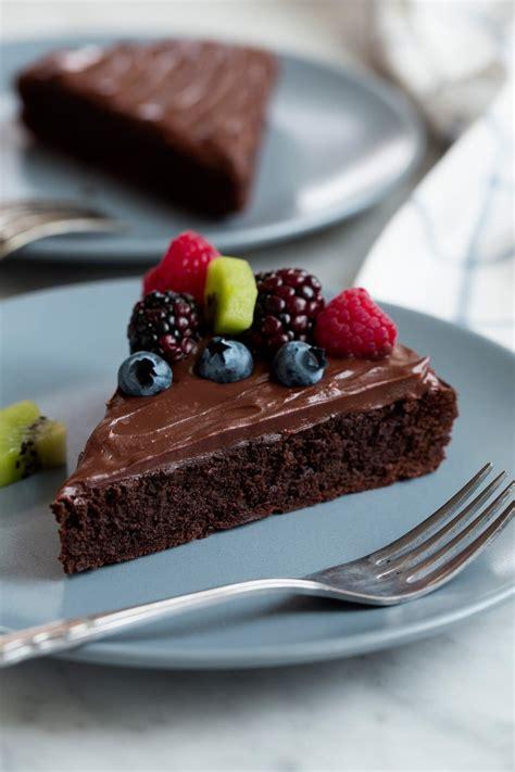 flourless chocolate cake easy recipe cooking classy