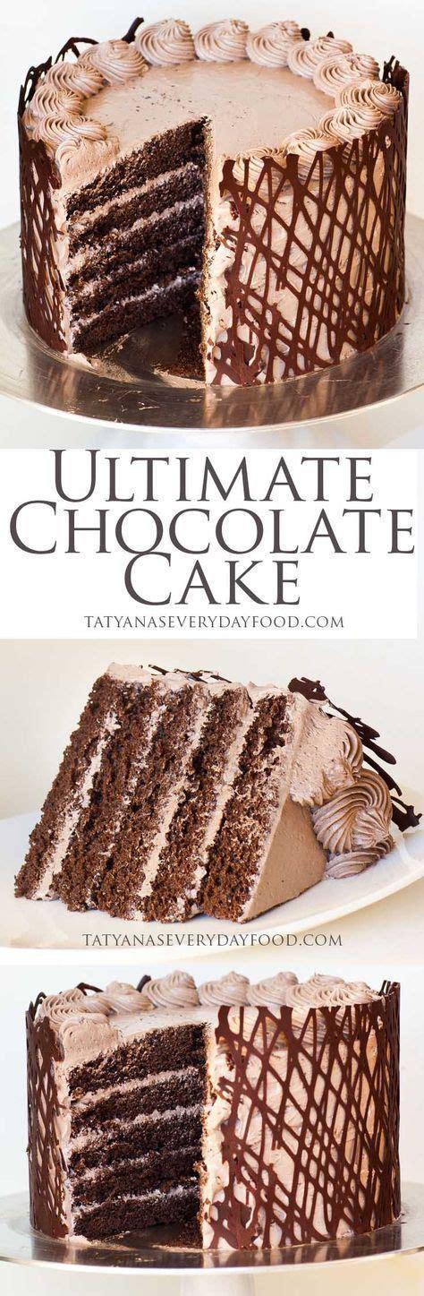 ultimate chocolate cake recipe ultimate chocolate cake cake