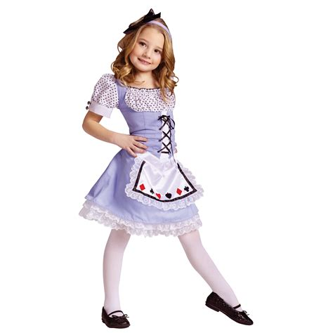 girls alice halloween costume