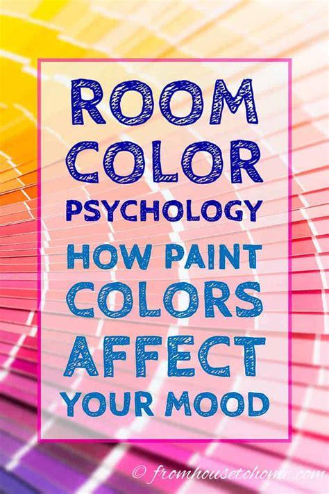 room color psychology paint color affects mood