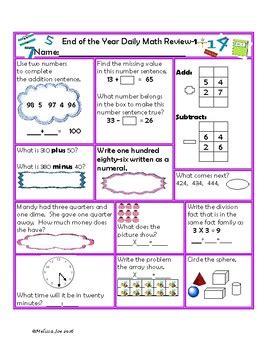 virginia mathematics standards year 2nd grade math review