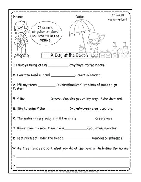 frogs fairies lesson plans 5 noun lessons teach