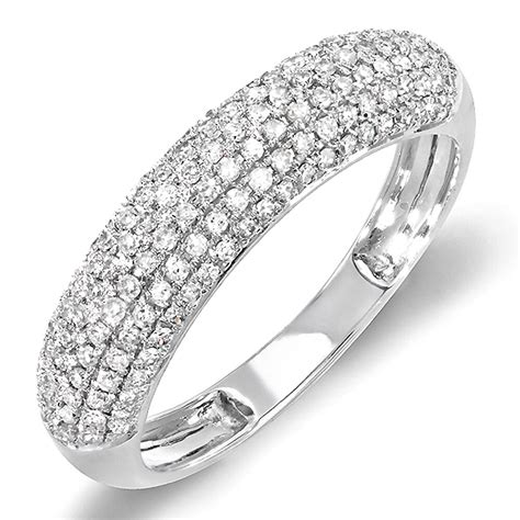0 50 carat 14k white gold diamond ladies