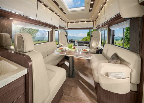 luxury rv carry smart car garage curbed