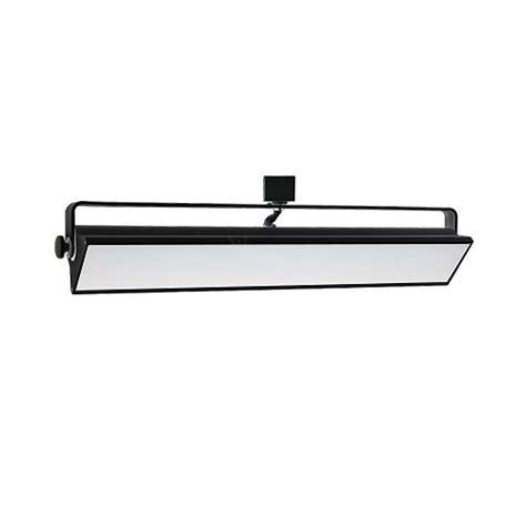 led track lighting 40watt wall wash black track