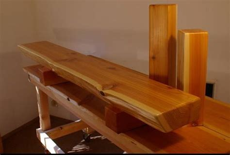 custom cedar beam mantle rustic mantel wood mantels