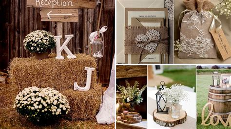 40 elegant rustic barn chic party wedding diy