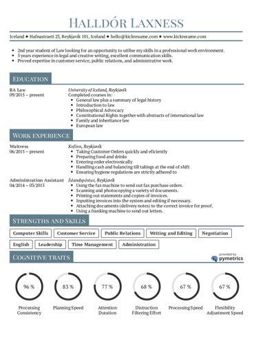 resume exles real people business management graduate cv