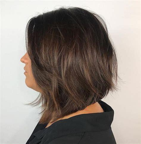 80 sensational medium length haircuts thick hair brown