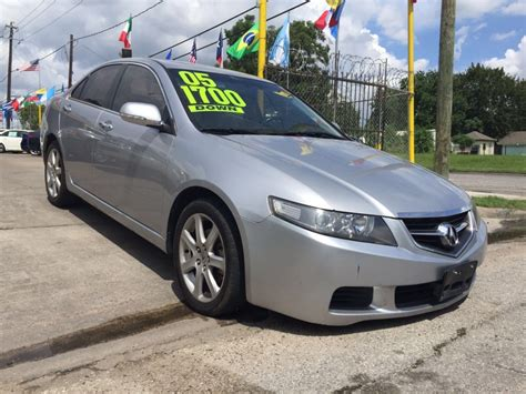2005 acura tsx sale houston tx 77076