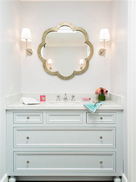 unique bathroom mirrors houzz