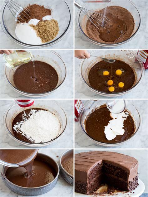 chocolate cake recipe chocolate buttercream cooking classy