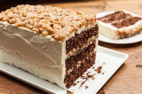 german chocolate cake 40 impressive birthday cake recipes