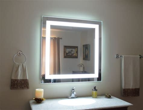 Lighted Vanity Mirrors Make Up Wall Mounted 40 Quot Mam1d40 Front Lighted Ebay.html