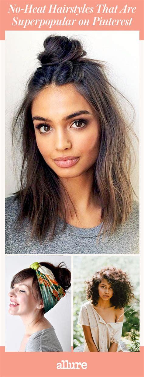 heat hairstyles superpopular pinterest allure