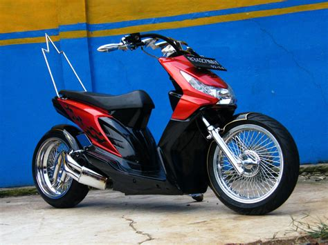 otomotif modifikasi motor beat 2012