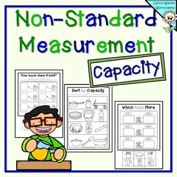 capacity standard measurement kindergarten grade