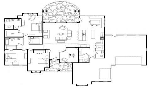 open floor plans ranch style open floor plans
