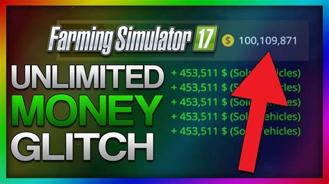 unlimited money glitch unlimited money farming simulator 2017