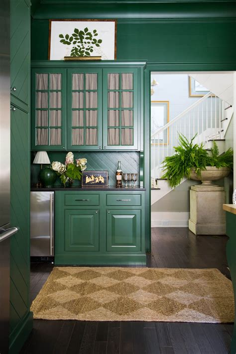painting kitchen walls cabinets color emily clark