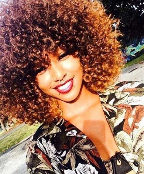 15 short curly afro hairstyles http short haircut