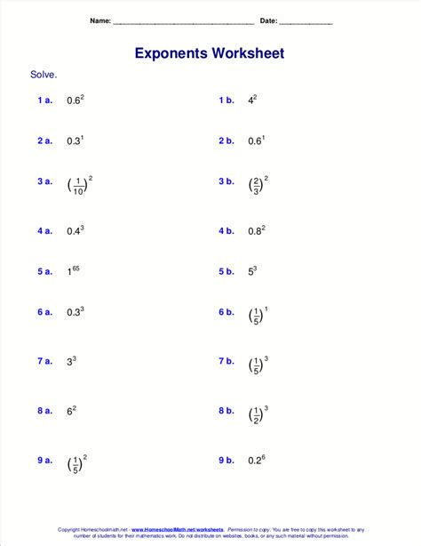 Worksheets With Fractional Exponents.html