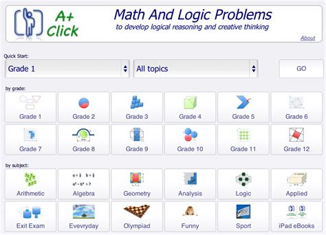 http aplusclick indexml math logic games activities searchable