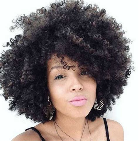 25 short curly afro hairstyles natural hair brides