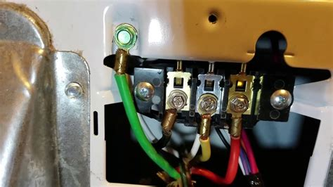 install electric dryer cord 3 4 prong ground