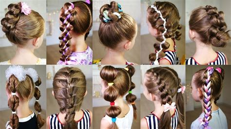 10 cute 3 minute hairstyles busy morning quick