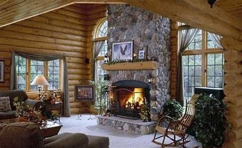log cabin fireplace warming hearts centuries