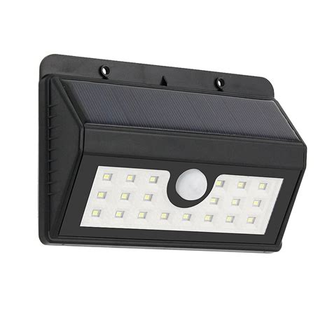 super bright outdoor solar light 20 led security