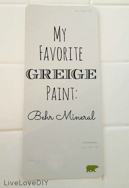favorite greige paint perfect blend beige gray greige