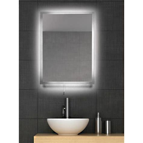fiji led backlit bathroom mirror