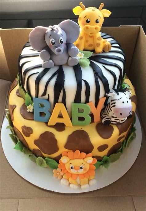 safari baby shower cake safari baby shower cake