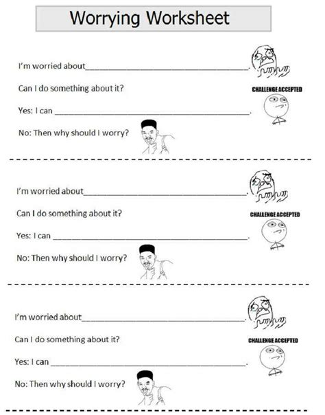 Anxiety Worksheets For Elementary Students.html
