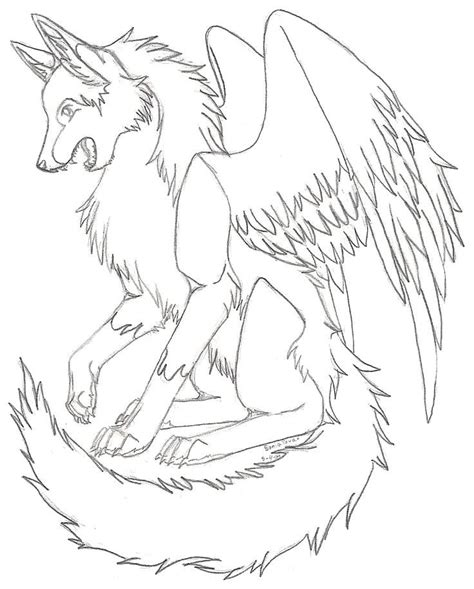 wolf color pages anime wolf coloring pages cute