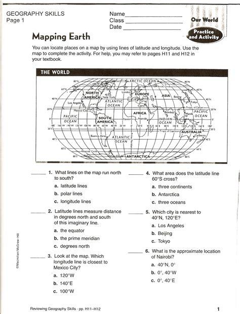 social studies skills social studies worksheets geography worksheets
