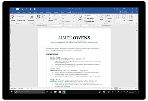 linkedin resume assistant extended office 365 subscribers