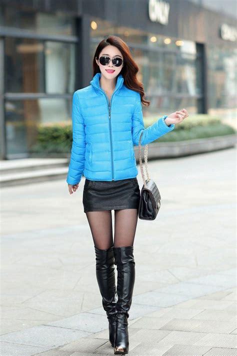 women short slim thickening slim jacket fashion winter