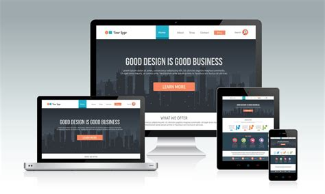 video responsive website design ice online