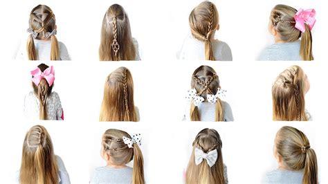 12 easy heatless school hairstyles quick easy hairstyles