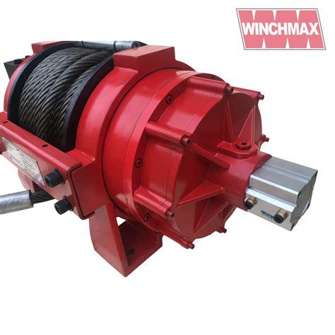 winchmax series 35 000lb hydraulic winch winchmax
