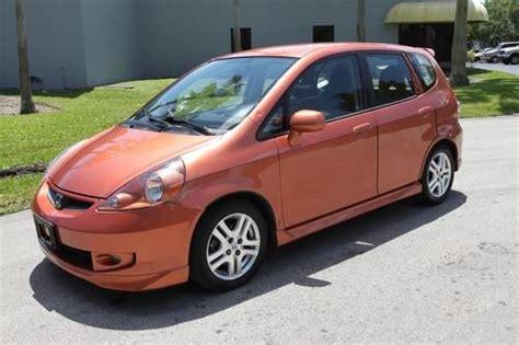buy 2007 honda fit sport 4dr hatchback bankruptcy