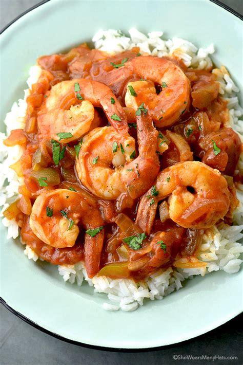 shrimp creole recipe wears hats easy recipes