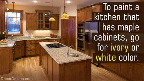 myriad stunning paint colors kitchens maple cabinets decor