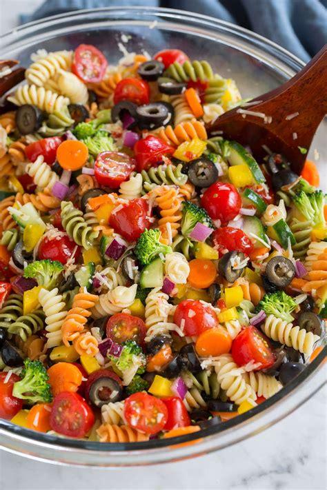 easy pasta salad recipe cooking classy