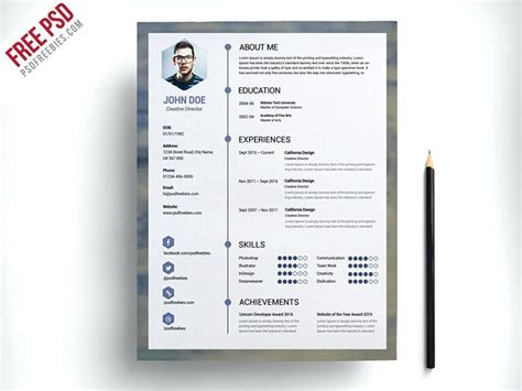 resume exles industry job title resume design template